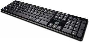 Kensington KP400 Bluetooth and USB Switchable Keyboard for Windows, Surface, MacOS, Iphone and Android (K72322US)