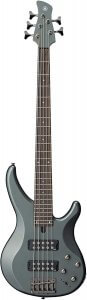 Yamaha 5-String Bass Guitar, Right Handed, Mist Green, 5-String (TRBX305 MGR)