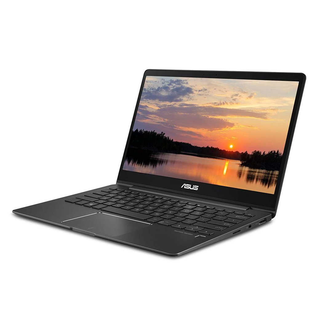 "Asus ZenBook 13 Ultra-Slim Laptop, 13.3"" Full HD Wideview, 8th Gen Intel Core I5-8265U, 8GB LPDDR3, 512GB PCIe SSD, Backlit KB, Fingerprint, Slate..."
