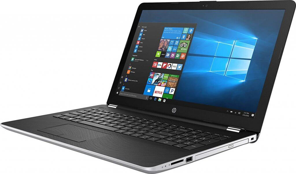 HP Jaguar 15-bs070wm, 15.6 Natural Silver Touch Screen Laptop, Windows 10, Intel Core i5-7200U Processor, 8GB Memory, 1TB Hard Drive