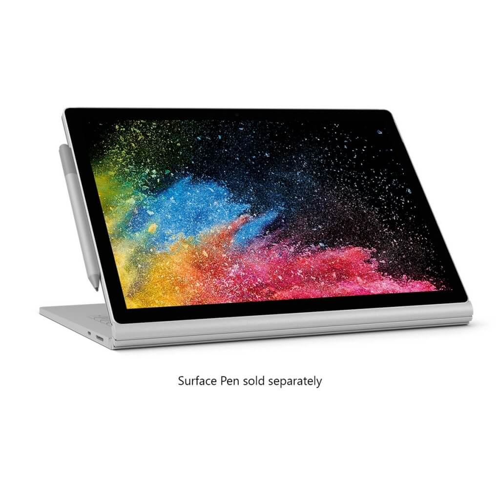 Microsoft Surface Book 2 15 (Intel Core i7, 16GB RAM, 256 GB)