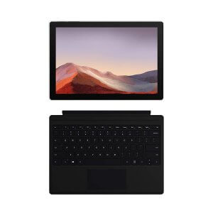 NEW Microsoft Surface Pro 7 – 12.3 Touch-Screen - 10th Gen Intel Core i5 - 8GB Memory - 256GB SSD (Latest Model) – Matte Black with Black Type Cover