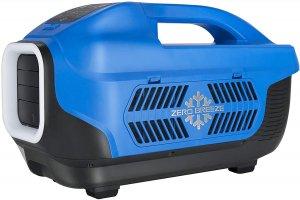 ZERO BREEZE Portable Air Conditioner, Outdoor Camping Tent Air Cooler 12V(AC/DC) Built-in Micro Compressor 1100 BTU
